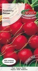 Rzodkiewka Carmen - nasiona na taśmie 165z