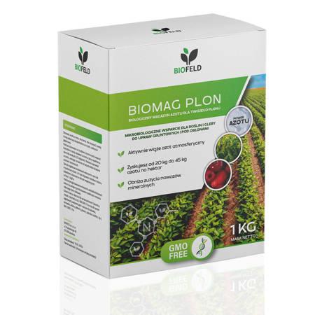 BIOMAG PLON (Biofeld) – utrwalacz azotu, wspomaga wzrost roślin – 1 kg