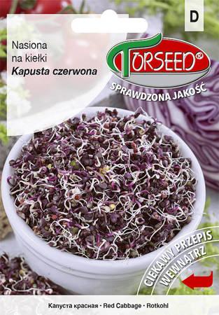 Kapusta czerwona - Nasiona na kiełki 10g
