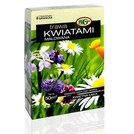 Mieszanka Traw Kwalifikowana Kwiatami Malowana 1 kg