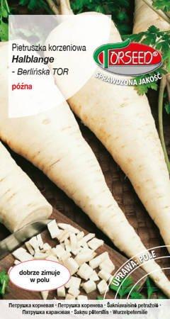 Pietruszka korzeniowa Halblange - Berlińska TOR - nasiona na taśmie 300z