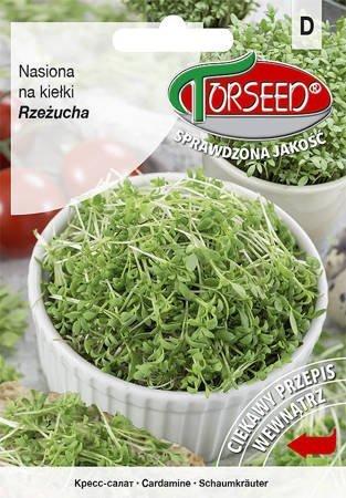 Rzeżucha ogrodowa - Nasiona na kiełki 30g
