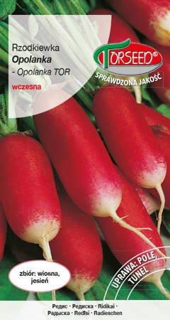 Rzodkiewka Opolanka - nasiona na taśmie 165z